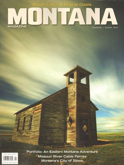 Montana Magazine Cover - 9/1/2010