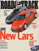 Road and Track Magazine 10/1/2010