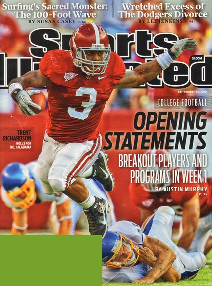 Sports Illustrated Cover - 9/13/2010