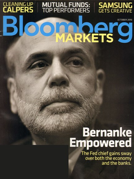 Bloomberg Markets Cover - 10/1/2010