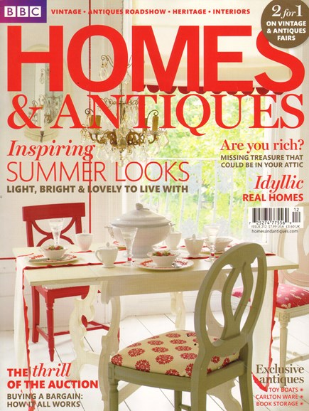 Homes & Antiques Cover - 9/1/2010