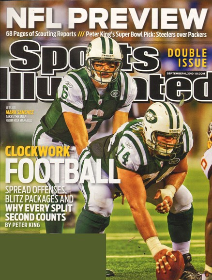 Sports Illustrated Cover - 9/7/2010