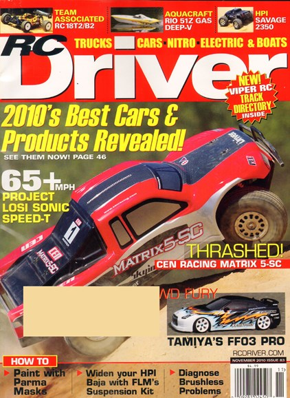 RC Driver Cover - 10/1/2010