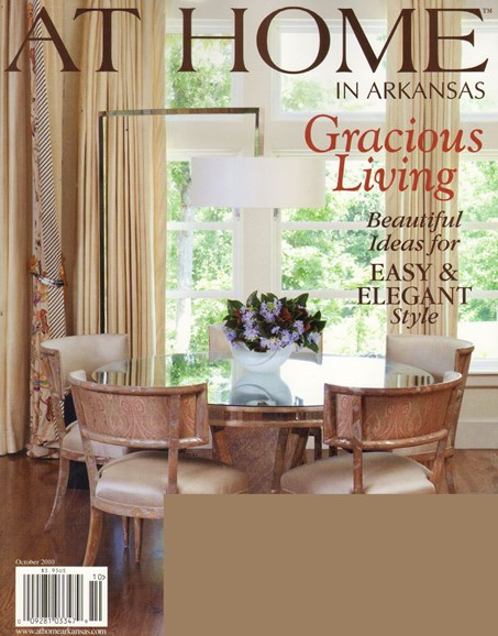 At Home In Arkansas Cover - 10/1/2010