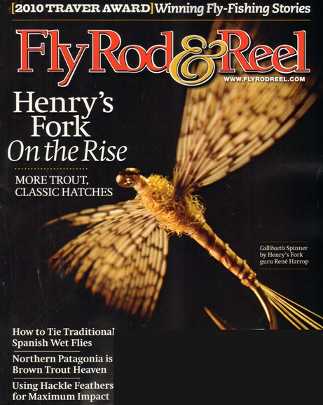 Fly Rod & Reel Magazine Cover - 9/1/2010