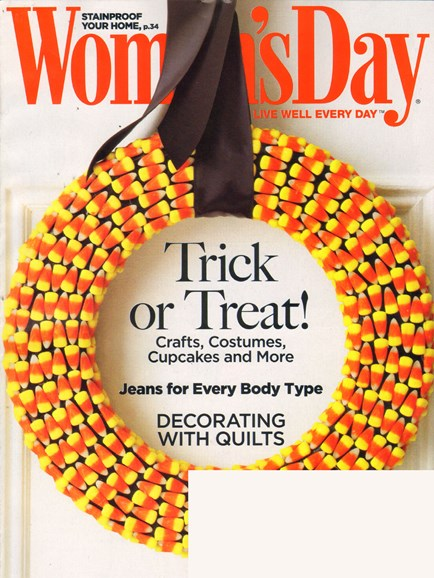 Woman's Day Cover - 10/17/2010