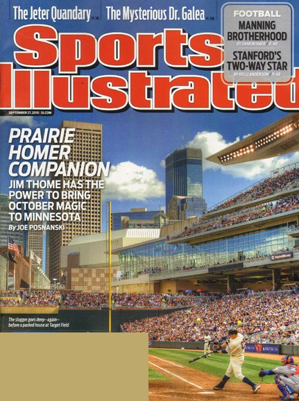 Sports Illustrated Cover - 9/22/2010