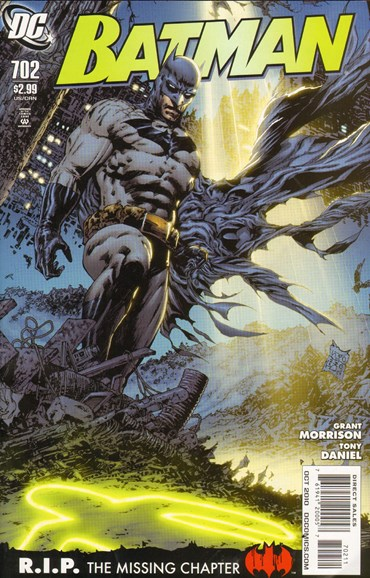 Batman Cover - 10/1/2010