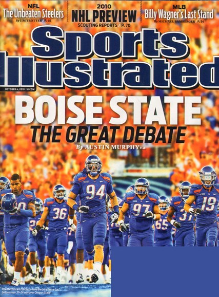 Sports Illustrated Cover - 10/4/2010