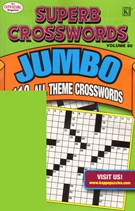 Superb Crosswords Jumbo Magazine 10/1/2010
