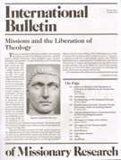 International Bulletin Of Missionary Research 10/1/2010