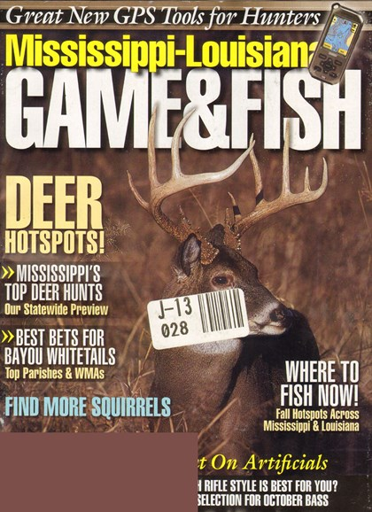 Mississippi Game & Fish Cover - 10/1/2010