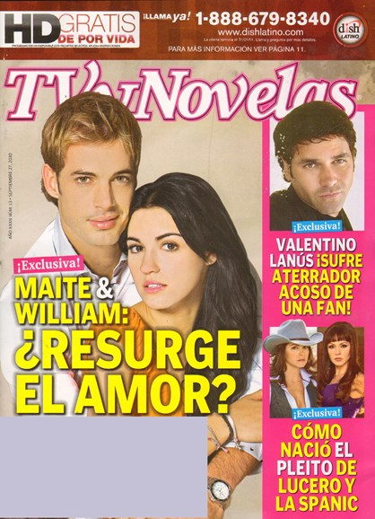 Tv Y Novelas Cover - 9/27/2010