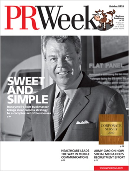 PRWeek Cover - 10/1/2010