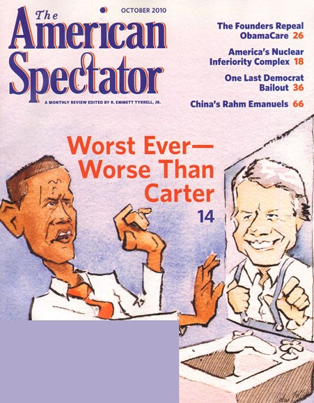 The American Spectator Cover - 10/1/2010