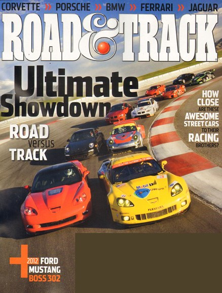 Road & Track Cover - 11/1/2010