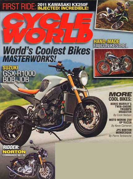 Cycle World Cover - 10/1/2010