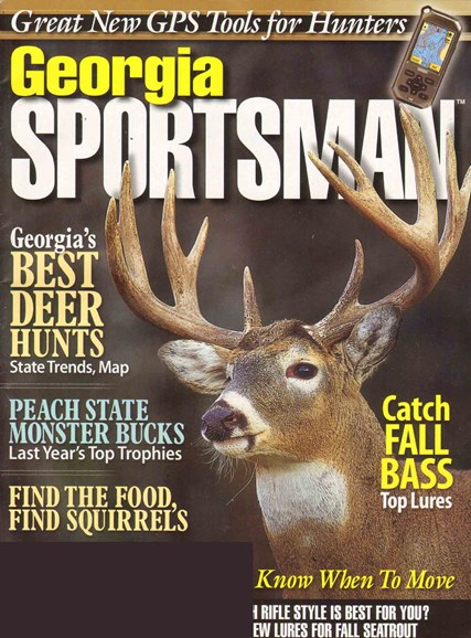 Georgia Sportsman Cover - 10/1/2010