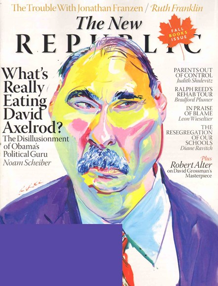 The New Republic Cover - 10/14/2010