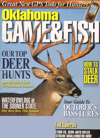 Oklahoma Game & Fish Cover - 10/1/2010