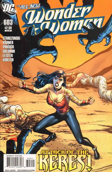 Wonder Woman Cover - 11/1/2010