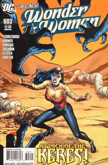Wonder Woman Cover - 11/1/2010