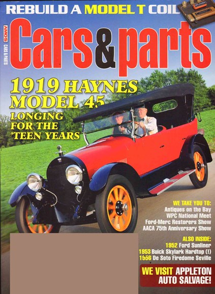 Cars & parts Cover - 11/1/2010
