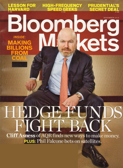 Bloomberg Markets Cover - 11/1/2010