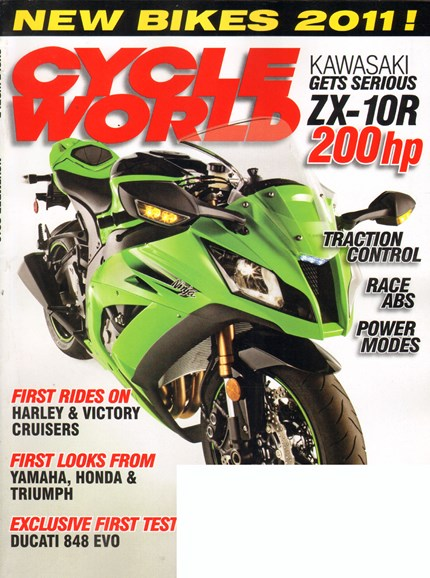 Cycle World Cover - 11/1/2010