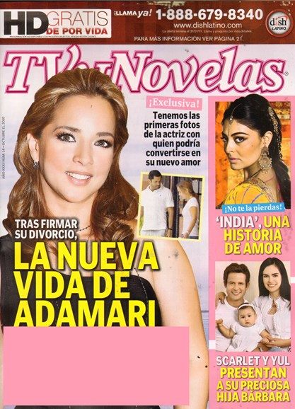 Tv Y Novelas Cover - 10/11/2010
