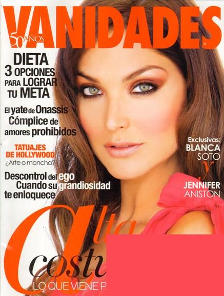 Vanidades Cover - 10/19/2010