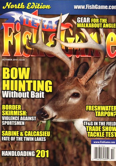 Texas Fish & Game Cover - 10/1/2010