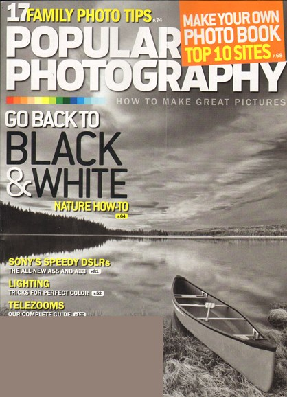 Popular Photography Cover - 11/1/2010