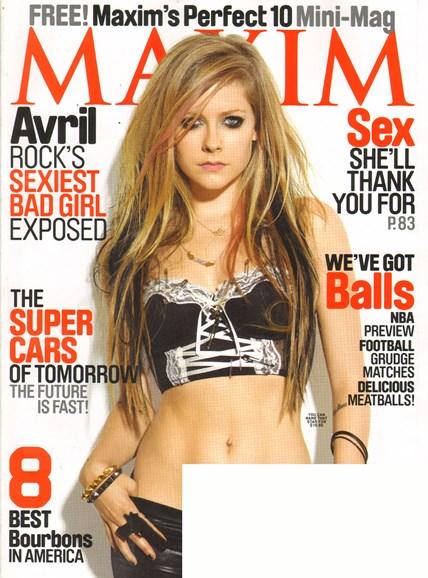 Maxim Cover - 11/1/2010