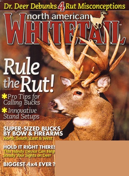 North American Whitetail Cover - 10/1/2010