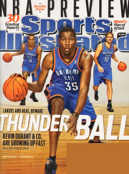 Sports Illustrated Cover - 10/23/2010