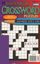 Quality Popular Crossword Puzzles Jumbo Magazine 12/6/2010