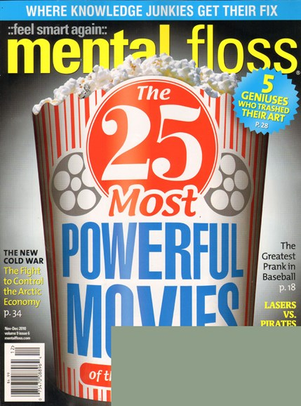 Mental Floss Cover - 11/1/2010