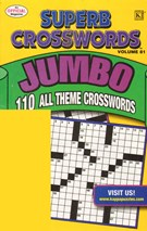 Superb Crosswords Jumbo Magazine 11/1/2010