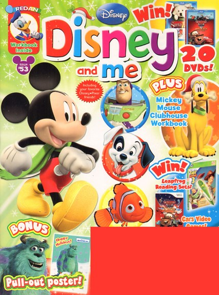 Disney Junior Cover - 11/1/2010