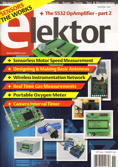 Elektor - North American Edition Cover - 11/1/2010