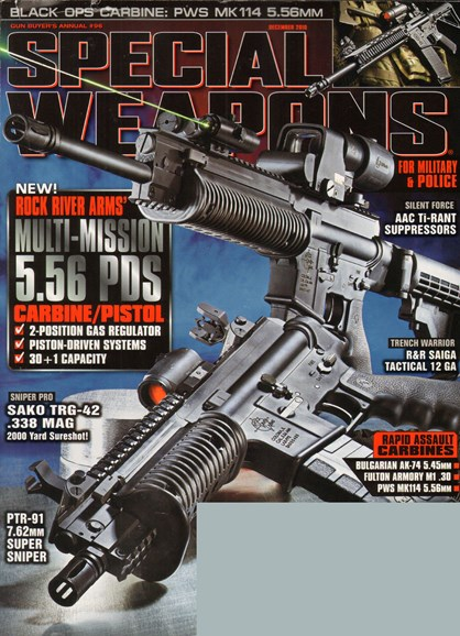 Special Weapons for Military & Police Cover - 12/1/2010