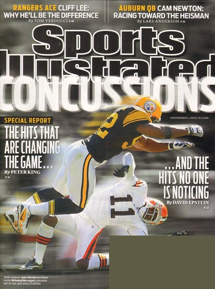 Sports Illustrated Cover - 11/1/2010