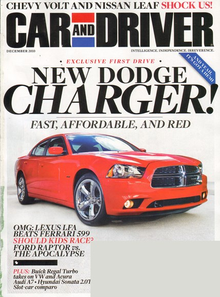 Car And Driver Cover - 12/1/2010