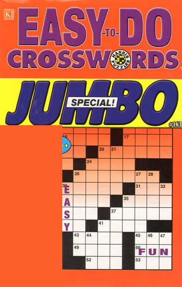 Lots of Easy Crosswords Cover - 11/1/2010
