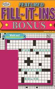 Featured Fill It Ins Bonus