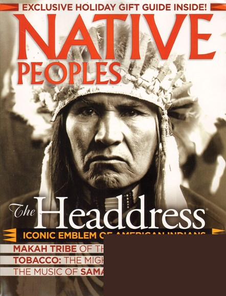 Native Peoples Cover - 12/1/2010