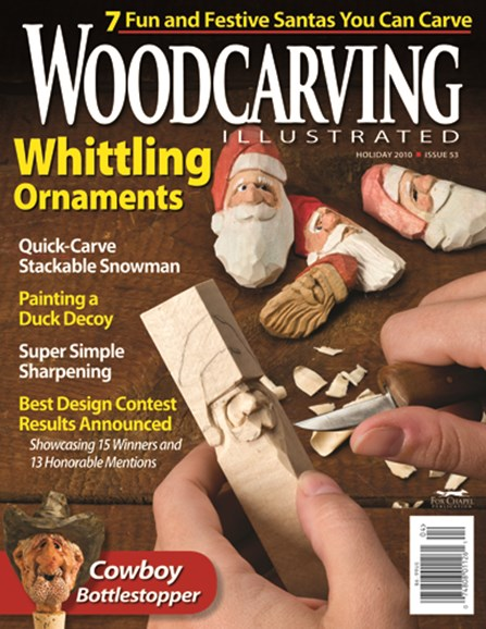Wood Carving Illustrated Cover - 12/1/2010