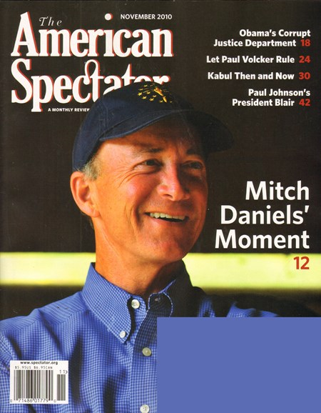 The American Spectator Cover - 11/1/2010