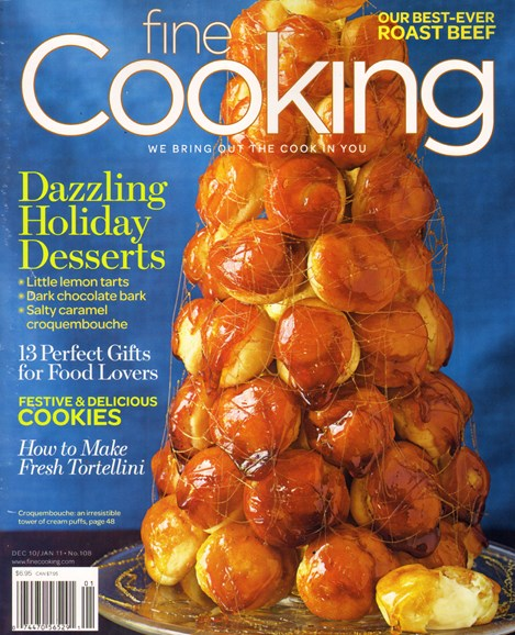 Fine Cooking Cover - 12/1/2010